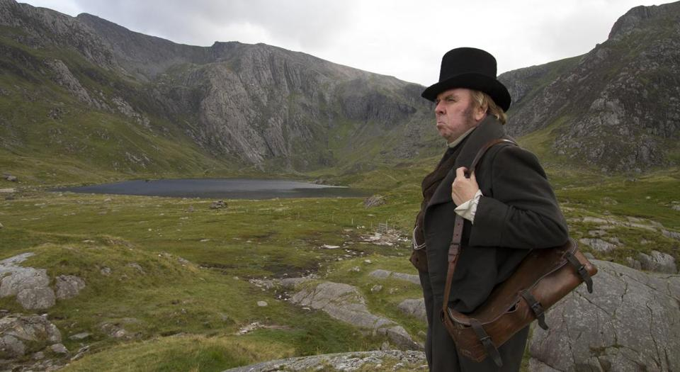 Timothy Spall in the 2014 film MR. TURNER, directed by Mike Leigh.